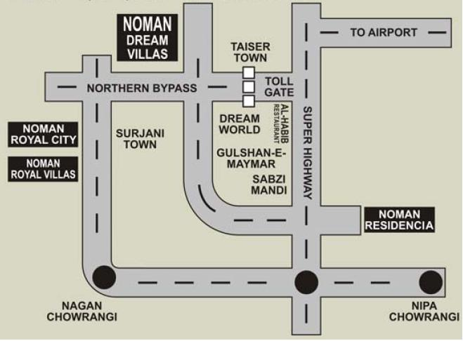 Noman Dream Villas -- Noman Builders  Karachi  Pakistan